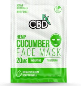 CBD Fx CBD Fx Face Mask - Hemp Cucumber