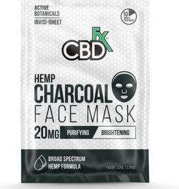 CBD Fx CBD Fx  Face Mask - Hemp Charcoal