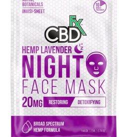 CBD Fx CBD Fx Face Mask - Hemp Lavender