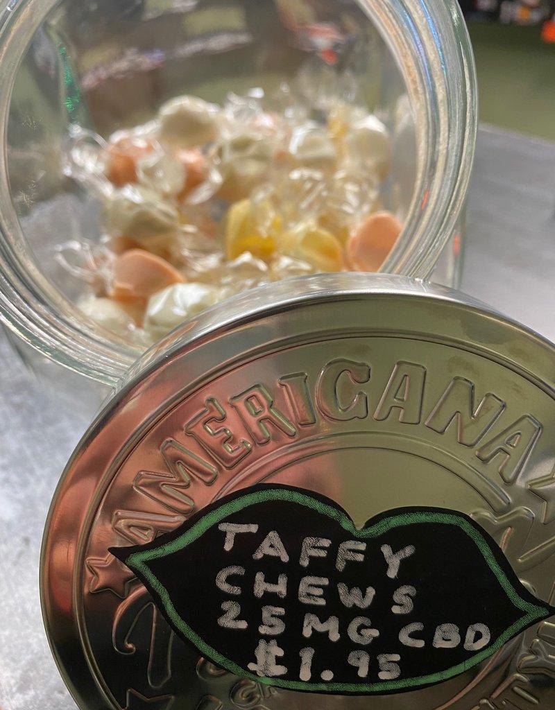 Patsy's Hemp Tropical Chews - 25 mg