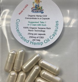 Hemp Victory Garden Concentrated Hemp Oil Capsules - 10 count