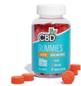 CBD Fx Gummies - Biotin Hair and Nails