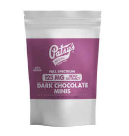 Patsy's Dark Chocolate Minis - 125mg