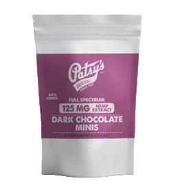 Patsy's Dark Chocolate Minis - 125mg