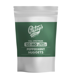 Patsy's Peppermint Nuggets - 125 mg