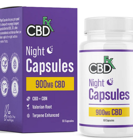 CBD Fx CBD Fx Capsules 900mg - Night