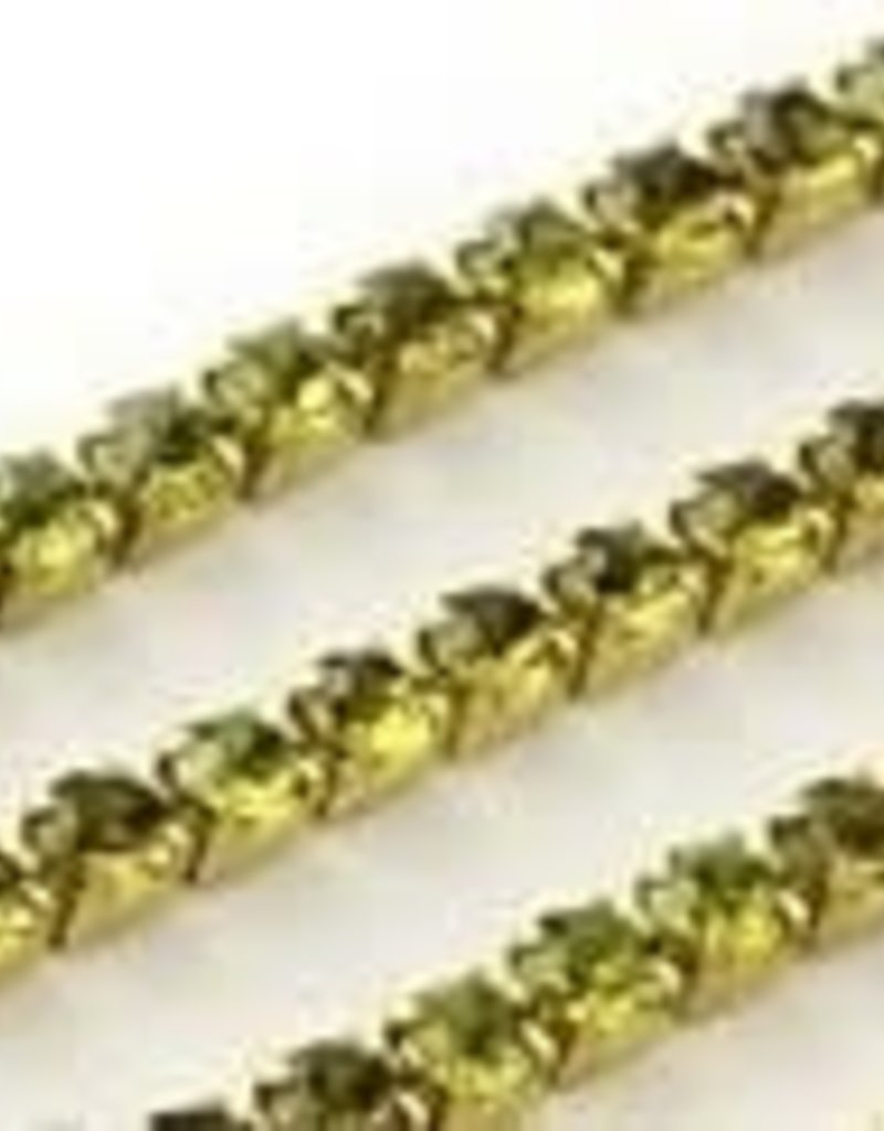 Cupchain 2mm 36in Olivine