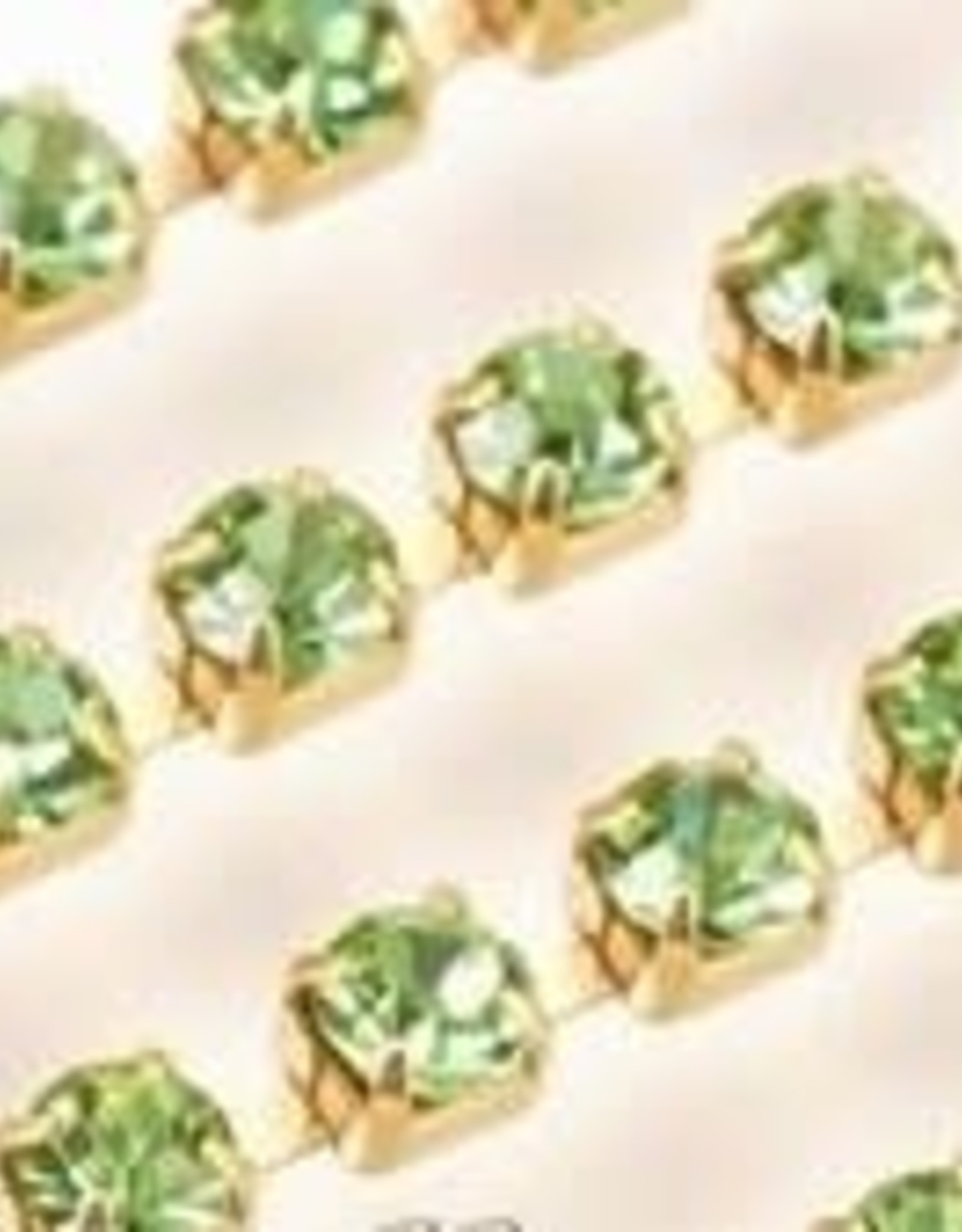Cupchain 2mm 36in Peridot