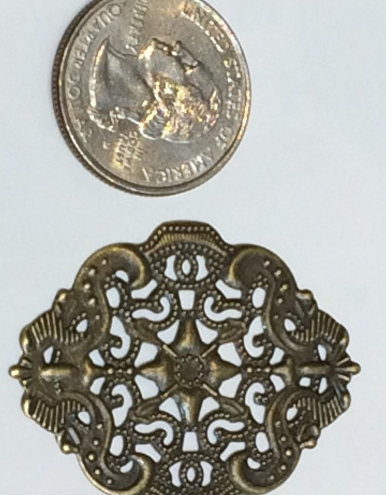 Filigree Finding Brass #1