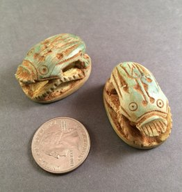 Clay Scarabs