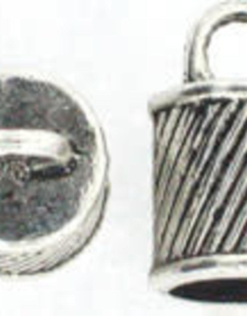 Ringed Caps 16x10mm ID 8mm