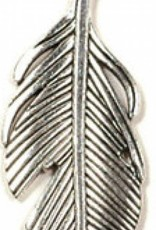Feather Pendant (53x21x2.5mm)