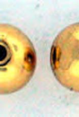 Gold Round 8mm