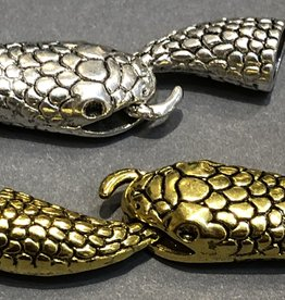 Snake and Tail clasp Gold