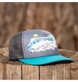 Ambler MtFest Technical Trucker Teal/Charcoal
