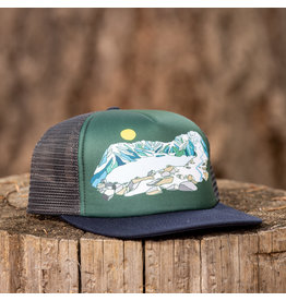 Ambler MtFest Technical Trucker Navy/Charcoal