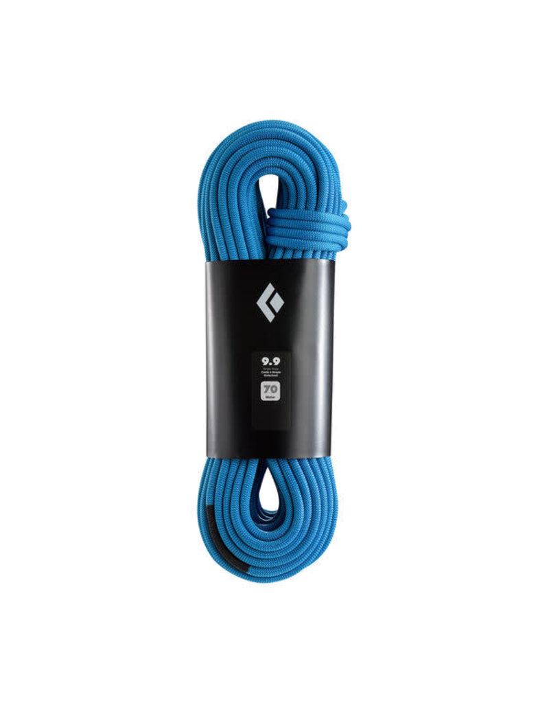 Black Diamond 9.9 Rope Dual Blue 70m
