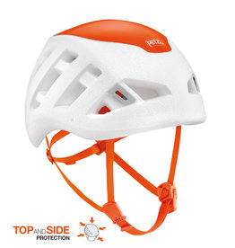 Sirocco Helmet White/Orange M/L