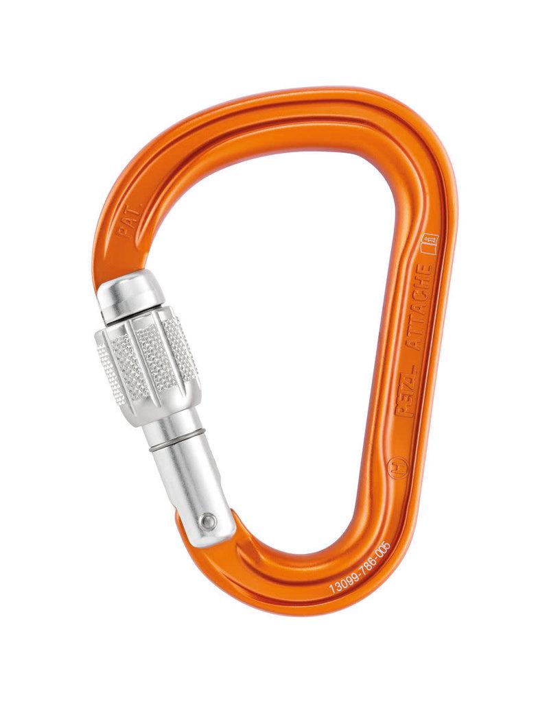 Petzl Attache Screw-Lock Carabiner