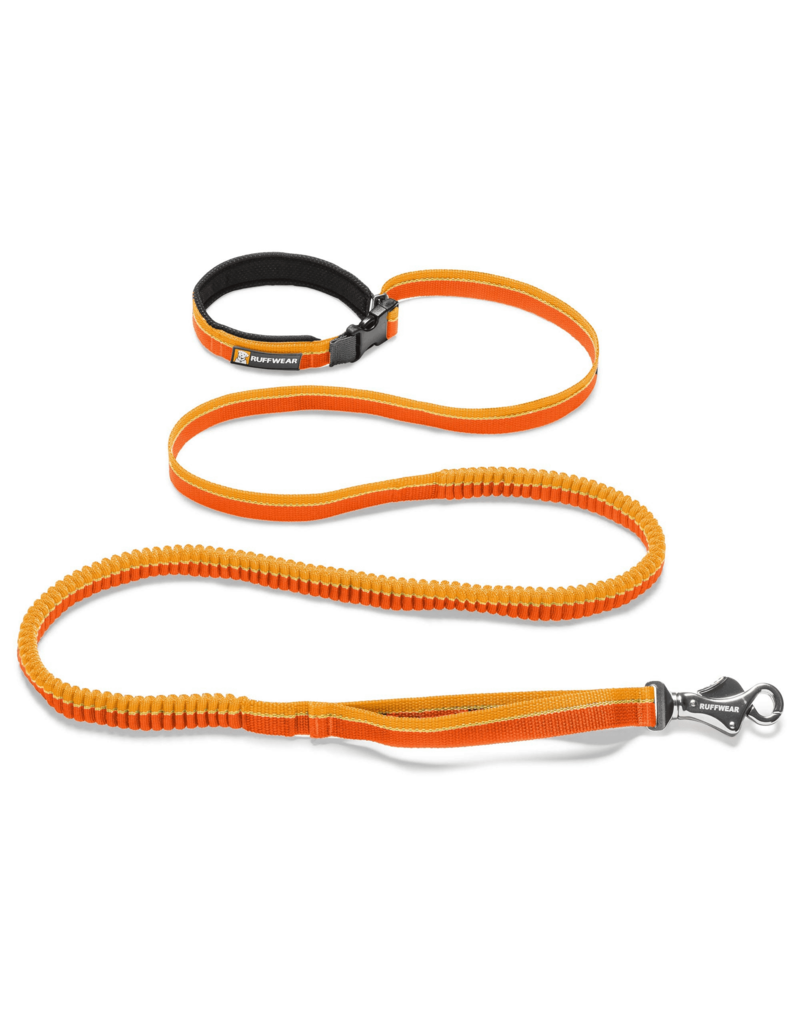 Ruffwear Roamer Leash Orange Sunset 5.5-7