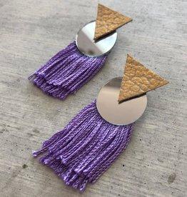 Modern Bohemian Fringes Earrings