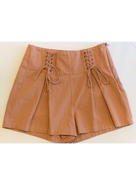 Corset Detail Shorts