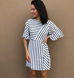 3 Way Striped Dress