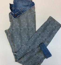Petit Petals Reversible Jeans