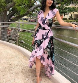 Deep Paradise Woven Dress