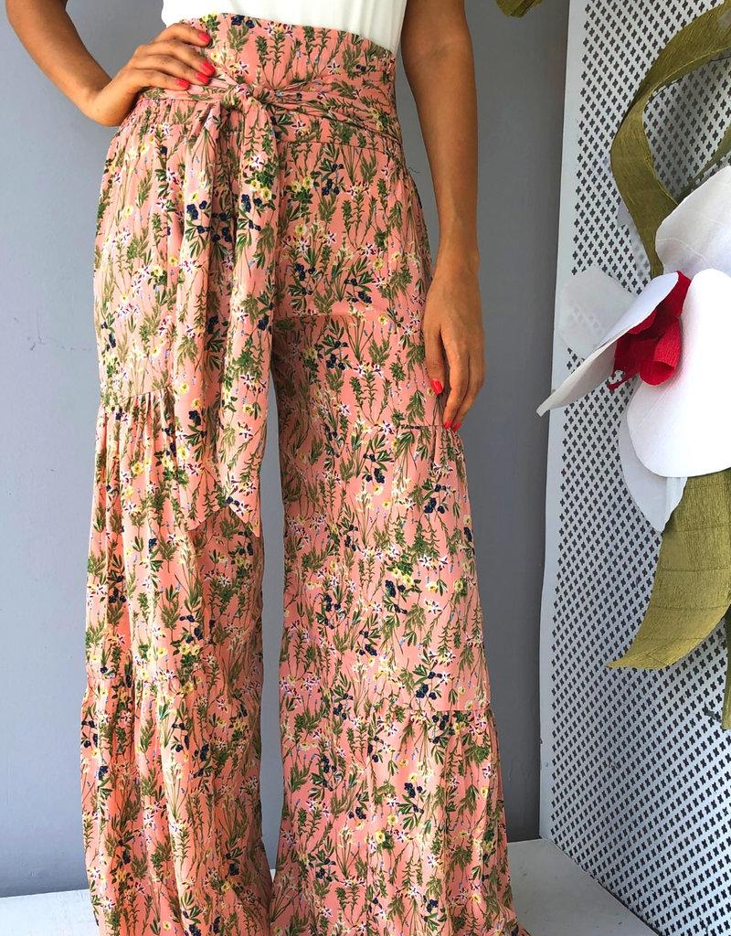 Pants with Tie Waist