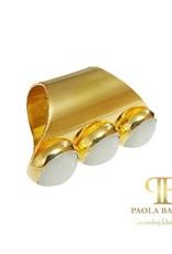 PAOLA BAELLA White Ring