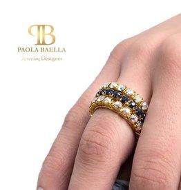 PAOLA BAELLA Rhinestone Rings