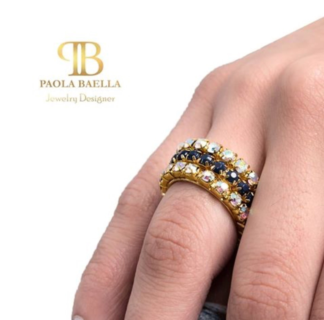 Rhinestone Rings Po Boutique