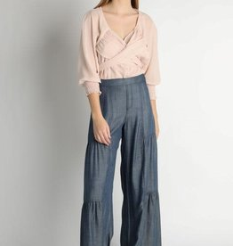 Tiered Wide Leggend Pant