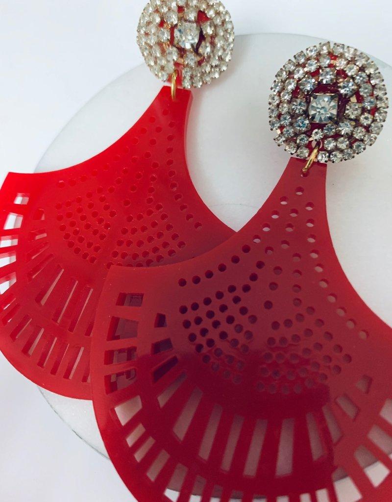 PAOLA BAELLA Color Statemnet Earrings
