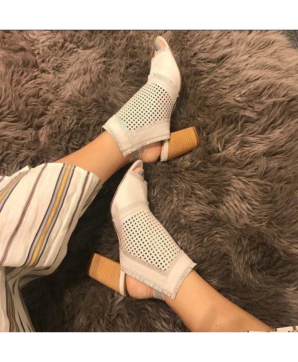Kyra Ice Heels Booties