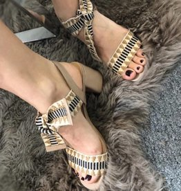 Ada Sandal Leather Taupe