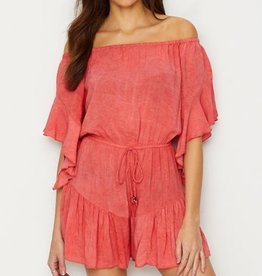 Romper 3/4 Bell Off Shoulder