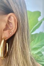 VIVIANA D'ONTANON Stella Hoop Earring