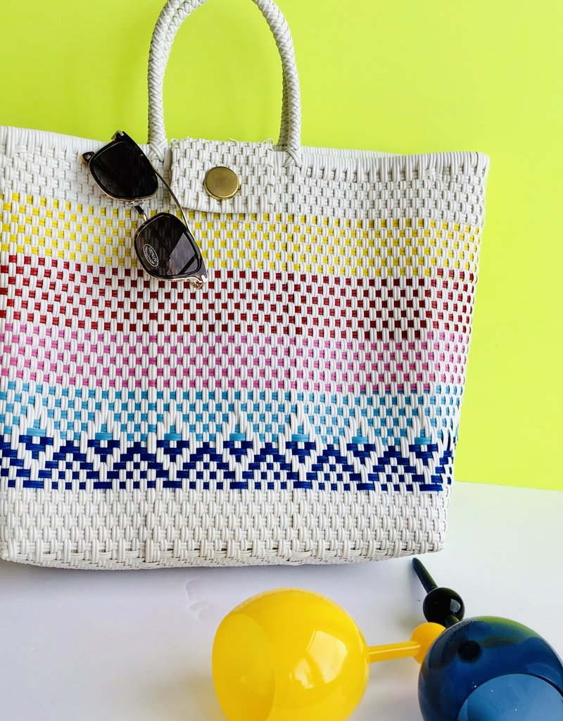 White Embroidery Bags