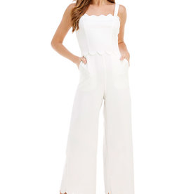 White Long Jumpsuit
