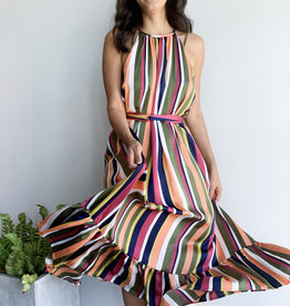 Colors Stripes Dress