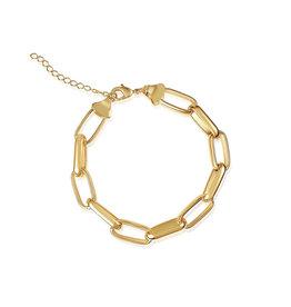VIVIANA D'ONTANON Rosalia Statement Chain Bracelet