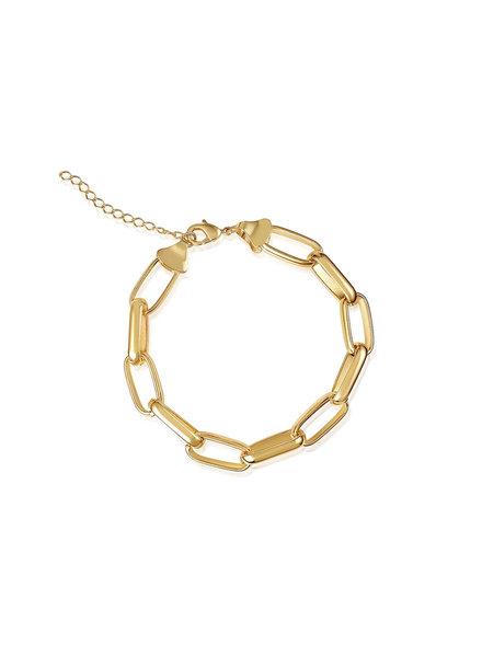 Rosalia Statement Chain Bracelet