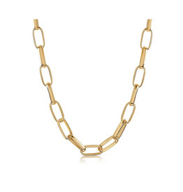 VIVIANA D'ONTANON Rosalia Statement Chain Necklace