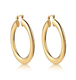 VIVIANA D'ONTANON Luna Hoop Earrings