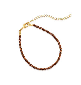 VIVIANA D'ONTANON Metallic Bronze Crystals Bracelet