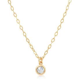 VIVIANA D'ONTANON Single Stone Necklace