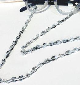 Glasses Chain Black and White