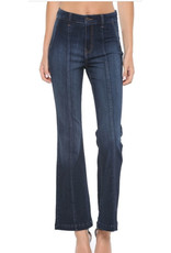 High Rise Flare w.Front Seam